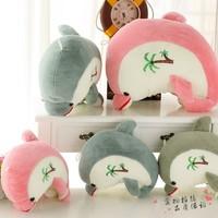 Plush toy  dolphin doll pillow birthday gift