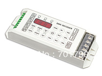 LT-860-5A;LED constant voltage DMX-PWM Decoder;DC5-24V input;5A*3 channel output;Can work as a RGB controller