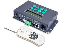 LT-200 LED Digital Controller;SPI signal output,1024 pixels controlled;can work with dmx console,also can as a DMX-SPI decoder