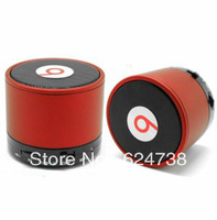 Free shipping mini portable bluetooth speaker support  answer the phone and TF card with retail packing