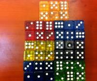 16*16*16MM Transfer Acryl Gambling Game dice  & Color random