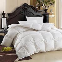 Thick cotton white goose down duvet quilt winter is anti-drilling Cashmere 2.5kg 150cm x 200cm