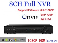 8Channel Network Video Recorder IP NVR,Support ONVIFnvr system H.264 HDMI 1080P Output,cctv nvr for ip camera