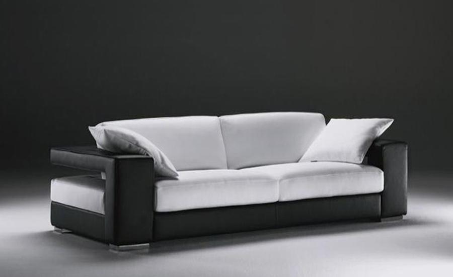 Modern Design Sofas : sofa-Modern-Design-Classic-Simple-Design-Genuine-leather-3-seater-sofa ...