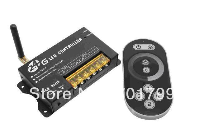 Rf203; 2.4 GHz led rf touch dimmer; dc5-24v ingresso