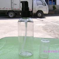 High-grade 100ml Plastic Lotion BottleTransparent PET Soap Dispenser Duckbilled Cream Bottle with Black Spray Pump