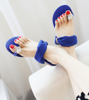2013 princess sexy lace vintage big crystal sets of bright flat heel slippers women's shoes