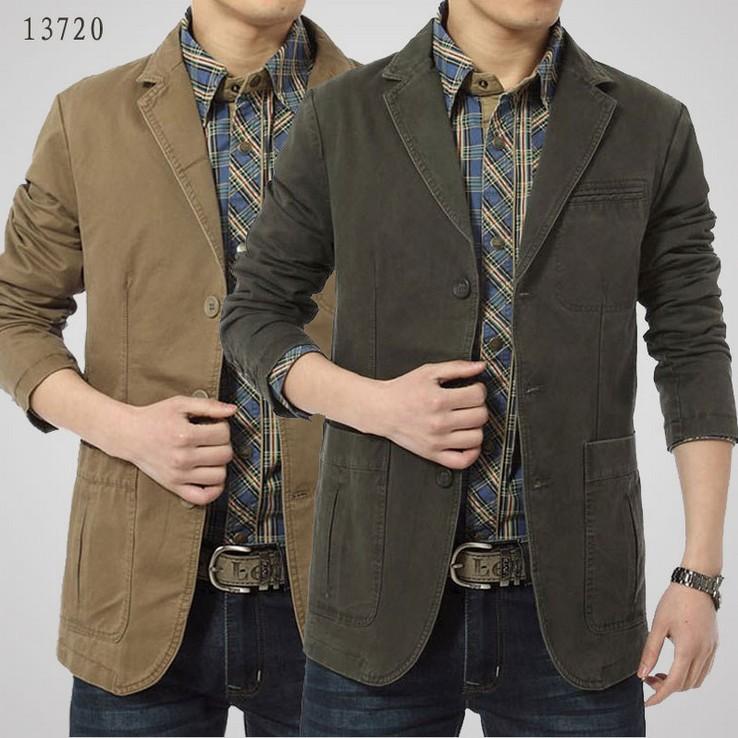 2015 New Men&39S Winter And Autumn Peacoat Jackets Brand Stylish