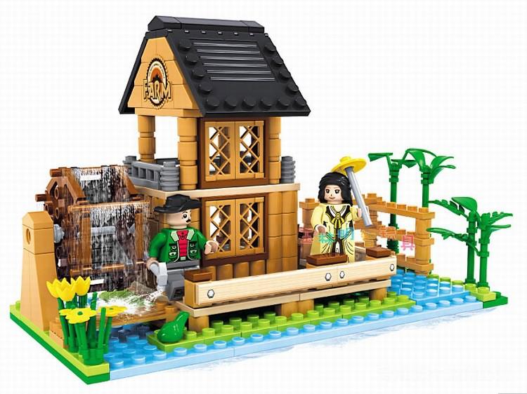 ausini фермы дом 28602 строительные блоки