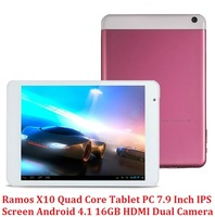 "Free Shipping Ramos X10 mini pad Tablets 7.85"" IPS Screen Actions 1GB RAM 16GB Dual Camera 5.0MP WIFI HDMI 3G Support"