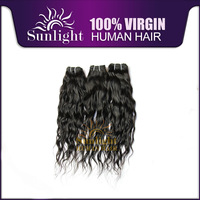 Free shipping 2014 new women's Human hair  3 pcs remy hair 20 inch hair extension factory wholesale