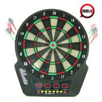 Jlwang electronic dart board professional 18 dartboard set voice 8 darts