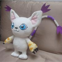 Handmade Digimon Adventure Gatomon Tailmon plush Toys Dolls Kids gift