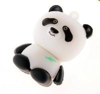 Free shipping 2GB 4GB 8GB 16GB 32GB 64GB Wholesale NEW Genuine USB 2.0 Memory Stick Flash Pen Drive, panda D6 free shipping
