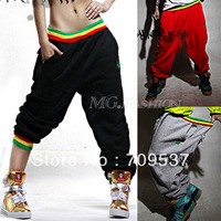 Hot Women Men Hip Hop Dance Harem Baggy Sport Sweat Pants Trousers Slacks Casual[240214]