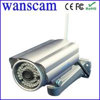 Wanscam 1280*720p outdoor waterproof hd wifi wireless ip camera with pnp, free ddns
