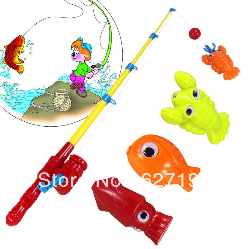 купить детскую удочку для рыбалки с магнитом