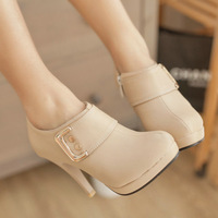 new style fashion ankle for women boots 3 colors round toe sequinted high heel  shoes KNE V6 L