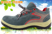 2014 Top Fashion Limited Wide(c,d,w) Boxing Shoes free Shipping Genuine Safety Shoes Light Wear-resistant Steel Summer Insulated