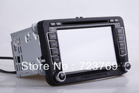 Android 4.0 Double din Car DVD player for VW Skoda Touran Passat 2007 with 3g wifi + free shipping