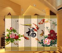 byobu Screens and partitions Chinese style screen double faced fabric screen home office partition quentzel rich