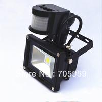 Infrared Body Sensor 10W/20W/30W/50W LED flood lights 85-265V floodlights warm white waterproof led outdoor Landscape Lighting