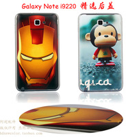 For samsung   galaxynote i9220 9228 battery cover n7000 relief back cover cartoon mobile phone back cover