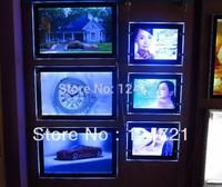 Advertising tracing light box,acrylic panel led publicity a3 photo frame 5pcs/lot