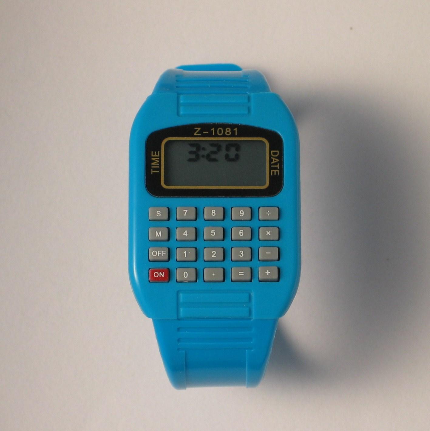 Calculator Watch Child Watch Pardew Calculator