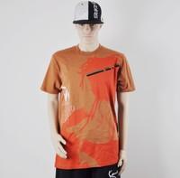 Hip hop Yardmanstyle men's 100%cotton t-shirt -urban clothing