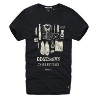 2013 men's scotch & soda round neck T-shirt 100% male short-sleeve cotton t-shirt personalized print t-shirt