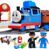 Child thomas toy train electric thomas toy train gift box set