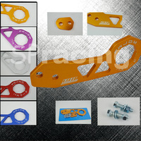 Free shipping-PASSWORD JDM Gold Rear TOW HOOKS FOR  CRX INTEGRA RSX