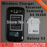 A040 Qi Wireless Charger Receiver for Samsung Galaxy S3 I9300 , 5V 1000mAh Qi Energy Card , Free Shipping 10 pcs/lot