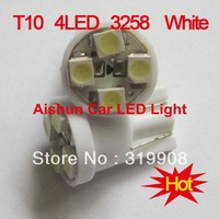 Promotion 194 w5w T10 4SMD 4 Leds 3528SMD auto led lamp  Free shipping