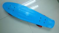 "Free Shipping Penny Skateboard 27"" Original Vinyl Cruiser Blue Skateboard Old School Plastic Penny Skateboard/Longboard"