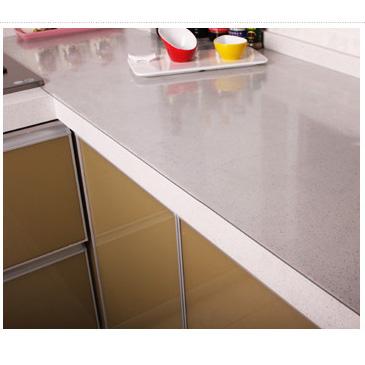 Online kopen wholesale glas bureau mat uit china glas bureau mat groothandel - Transparante plastic tafel ...
