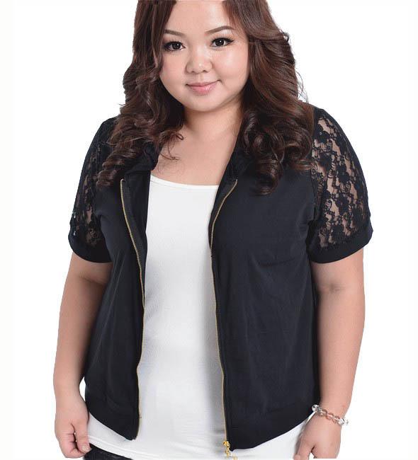 2017 Wholesale Fashion Plus Size Knitted Cardigan Fat Women ...