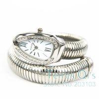 Casual Women's Girls Lady Bangle Wrist Watch Snake Quartz Dress Watches Free Shipping