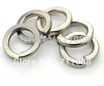 Free shipping wholesale new arrival 304 stainless steel metal gasket spring washers piece M6, inner diameter 3mm flat gasket(China (Mainland))