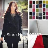 Wholesale Pure imitation wool fabric / winter high-end clothing plush fabric 60004