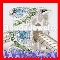 Free Shipping!2pcs/lot,Jewelry Silver Bead Charm European Daisy Bouquet Beads For European Bracelet SS2656-16