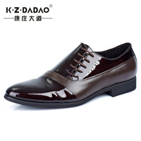 New arrived men fashion business leather shoes wedding shoes casual pointed shoes