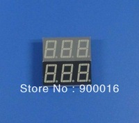 0.56inch 3digit 7 segment LED display, super bright red color,common cathode
