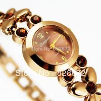 Free Shipping ! 1pc New Elegant Hot Jewelry Design Pretty Girl's Women's Watch Quartz Watch Nice Gift Watch, G42