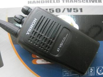 Walkie talkie at-v50 v51 wireless handheld fm radio