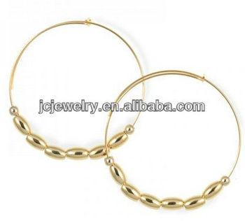 Handmade Vintage Style Earrings Poparazzi hoop Pin catch love earring