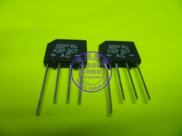 Hot sale Kbp307 bridge rectifier 3a 1000v lcd power board rectifier bridge(China (Mainland))