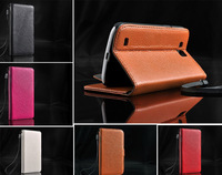 Luxury Litchi Designer Leather Case for Samsung Galaxy Premier I9260 Card Holder Walllet Case,DHL Free Shipping 30pcs/lot