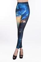 ML7609 New Sexy Shiny Night Sky Galaxy Print Women Top Quality Leggings